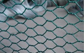 PVC Coated Hexagonal Fence